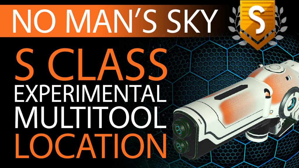 02 No Man's Sky Orange Fade Decal S Class Experimental Multitool - Available to ALL - Xaine's World NMS Thumbnail