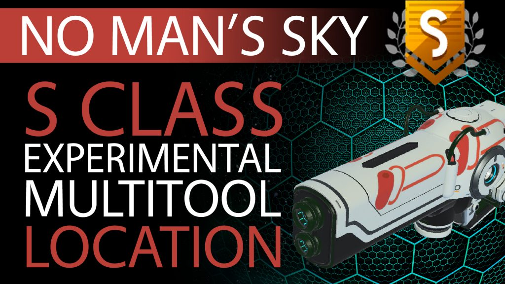 03 No Man's Sky Orange Fade Decal S Class Experimental Multitool - Available to ALL - Xaine's World NMS Thumbnail