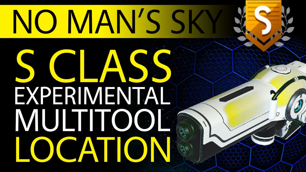 04 No Man's Sky Yellow Fade Decal S Class Experimental Multitool - Available to ALL - Xaine's World NMS Thumbnail