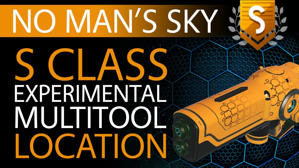 05 No Man's Sky Gold, Black Decal S Class Experimental Multitool - Available to ALL - Xaine's World NMS Thumbnail