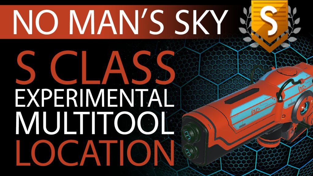 06 No Man's Sky Red, Blue Decal S Class Experimental Multitool - Available to ALL - Xaine's World NMS Thumbnail