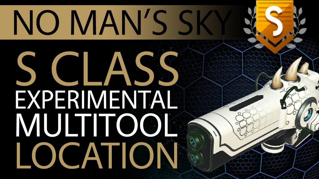 08 No Man's Sky Horned, Black Decal S Class Experimental Multitool - Available ALL - Xaine's World NMS Thumbnail