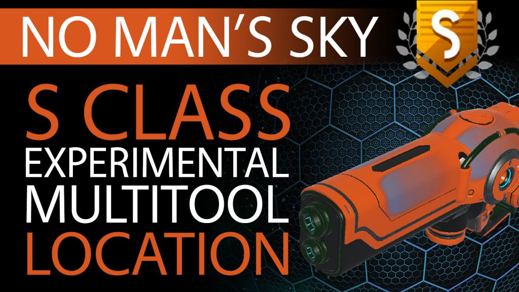 11 No Man's Sky Orange, Blue Fade S Class Experimental Multitool - Available to ALL - Xaine's World NMS Thumbnail