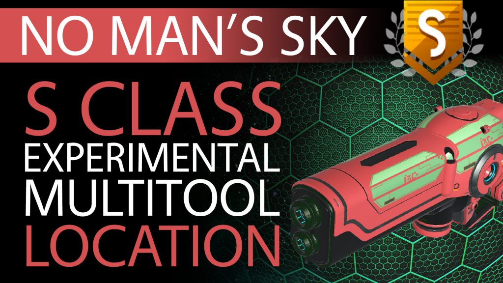 12 No Man's Sky Pale Red & Green S Class Experimental Multitool - Available to ALL - Xaine's World NMS Thumbnail