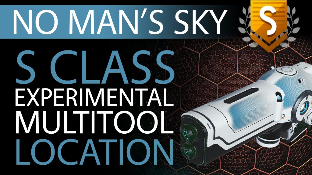 13 No Man's Sky Blue Fade Decal S Class Experimental Multitool - Available to ALL - Xaine's World NMS Thumbnail