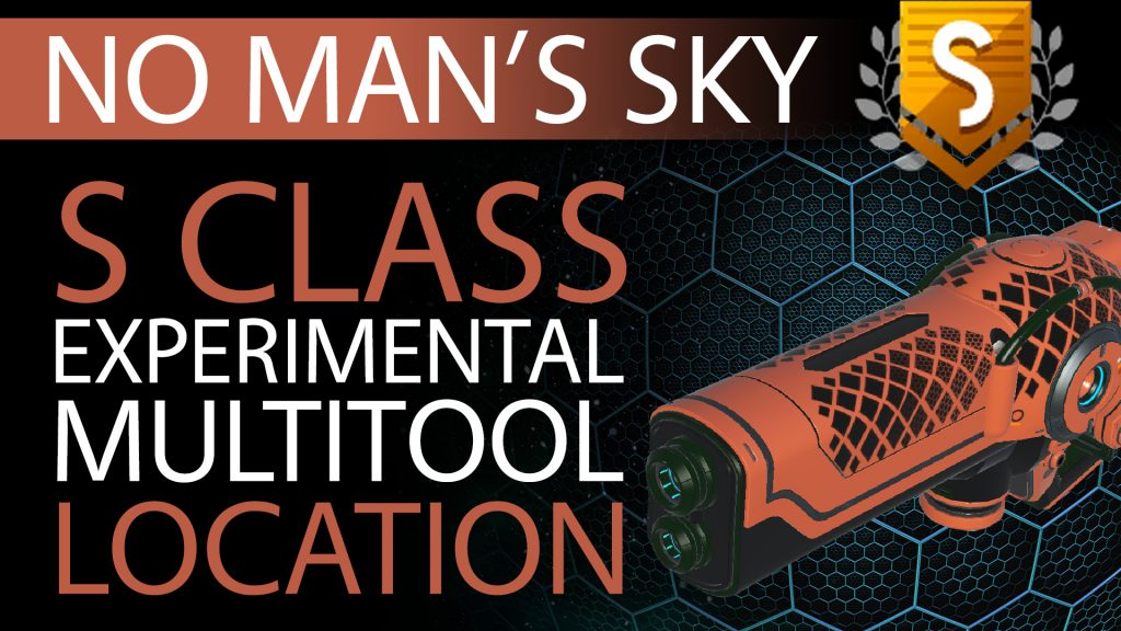 15 No Man's Sky Blood Orange & Black S Class Experimental Multitool - Available ALL - Xaine's World NMS Thumbnail