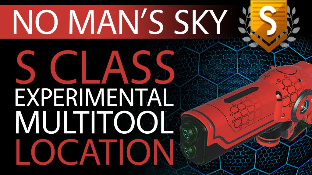 17 No Man's Sky Vibrant Red & Black S Class Experimental Multitool - Available ALL - Xaine's World NMS Thumbnail