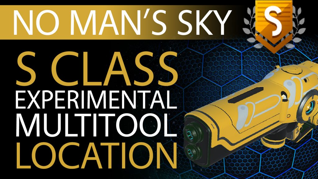 19 No Man's Sky Yellow, White Decal S Class Experimental Multitool - Available ALL - Xaine's World NMS Thumbnail