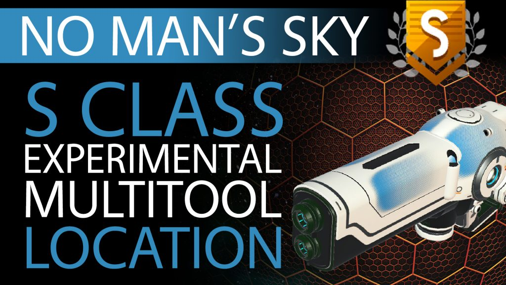 20 No Man's Sky Blue Fade Decal S Class Experimental Multitool - Available ALL - Xaine's World NMS Thumbnail