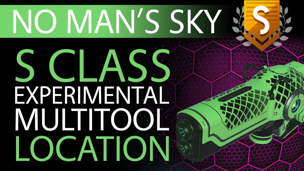 21 No Man's Sky Mint Green & Black S Class Experimental Multitool - Available ALL - Xaine's World NMS Thumbnail