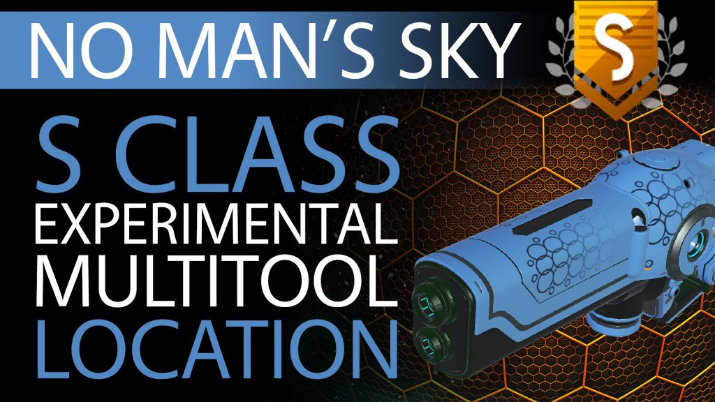 22 No Man's Sky Pale Blue & Black S Class Experimental Multitool - Available to ALL - Xaine's World NMS Thumbnail