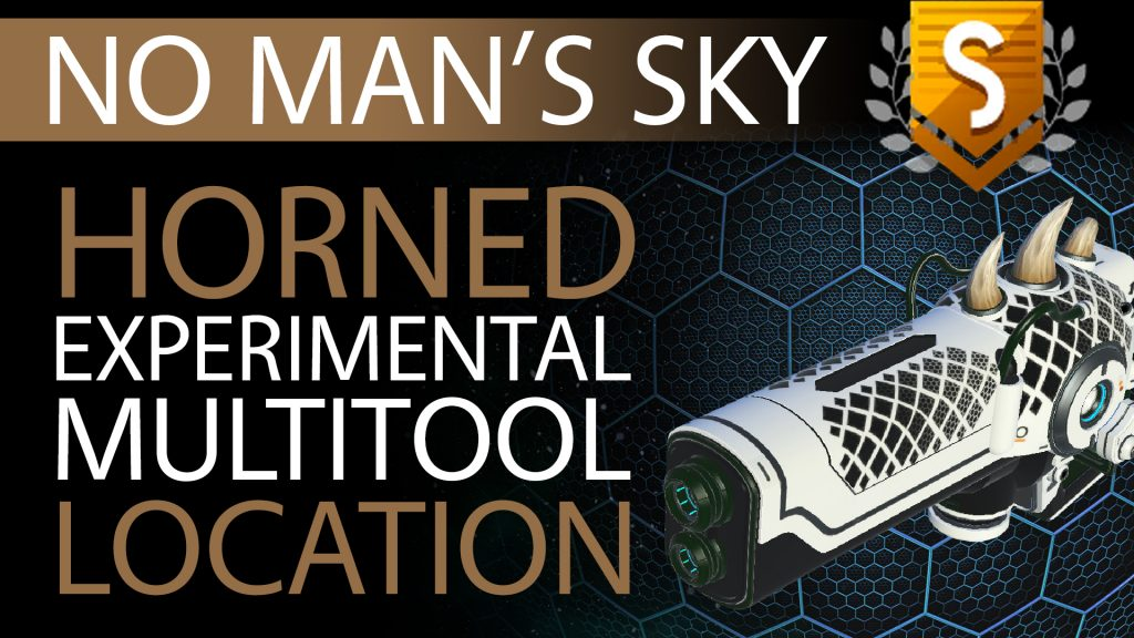 23 No Man's Sky Horned, Black Decals S Class Experimental Multitool - Available ALL - Xaine's World NMS Thumbnail