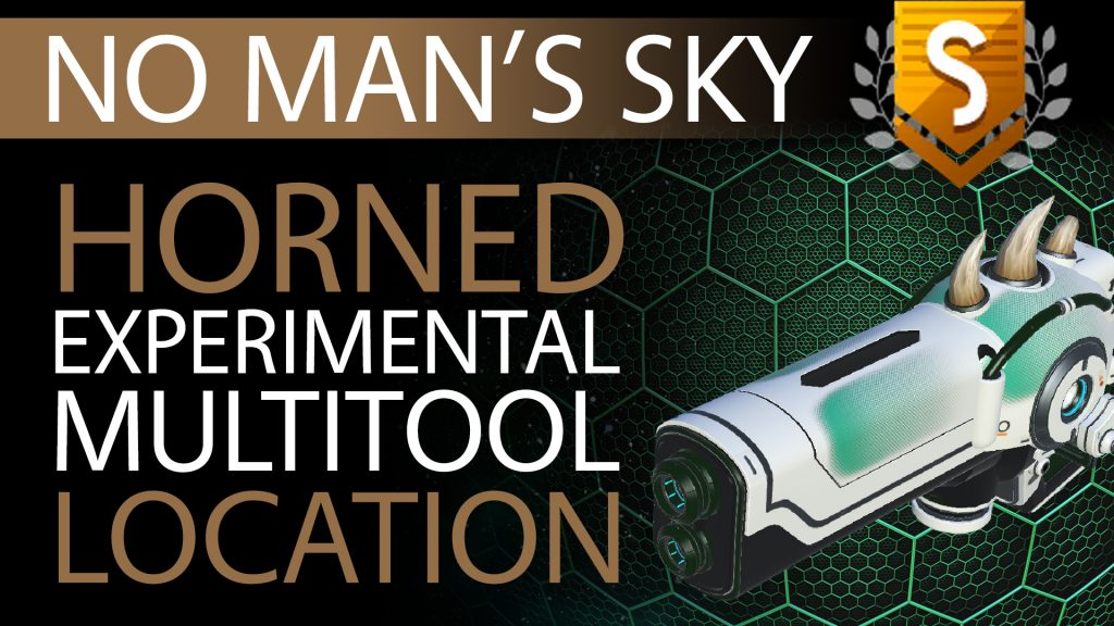 24 No Man's Sky Horned, Green Decals S Class Experimental Multitool - Available ALL - Xaine's World NMS Thumbnail