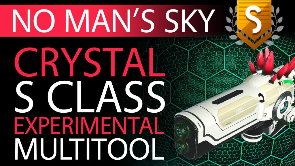 25 No Man's Sky Epic Red Crystal S Class Experimental Multitool - Available to ALL - Xaine's World NMS Thumbnail