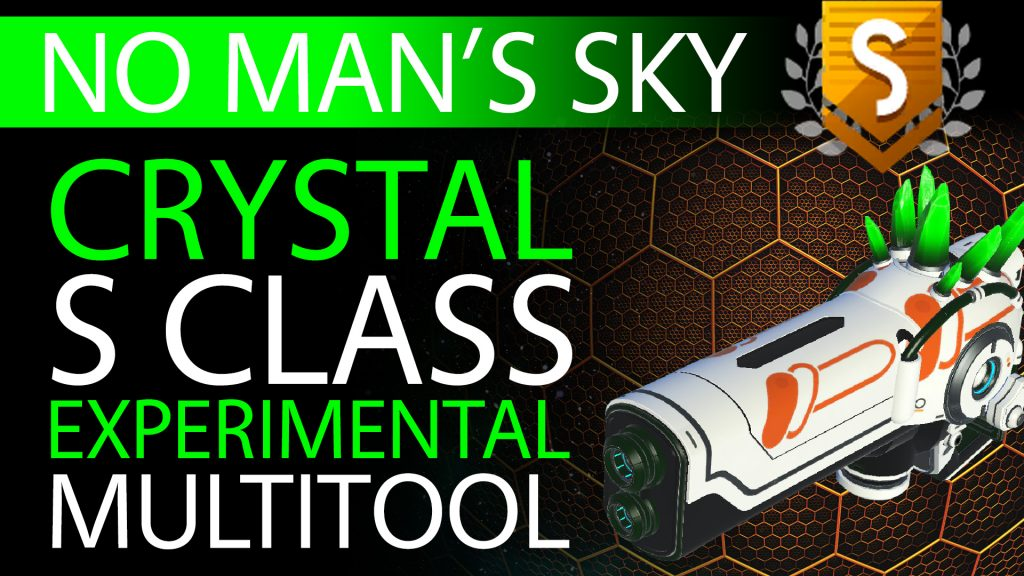 27 No Man's Sky Green Crystal S Class Experimental Multitool - Available to ALL - Xaine's World NMS Thumbnail