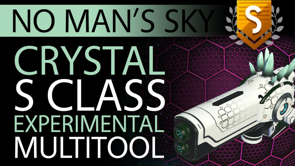 29 No Man's Sky Pastel Green Crystal S Class Experimental Multitool - Available ALL - Xaine's World NMS Thumbnail