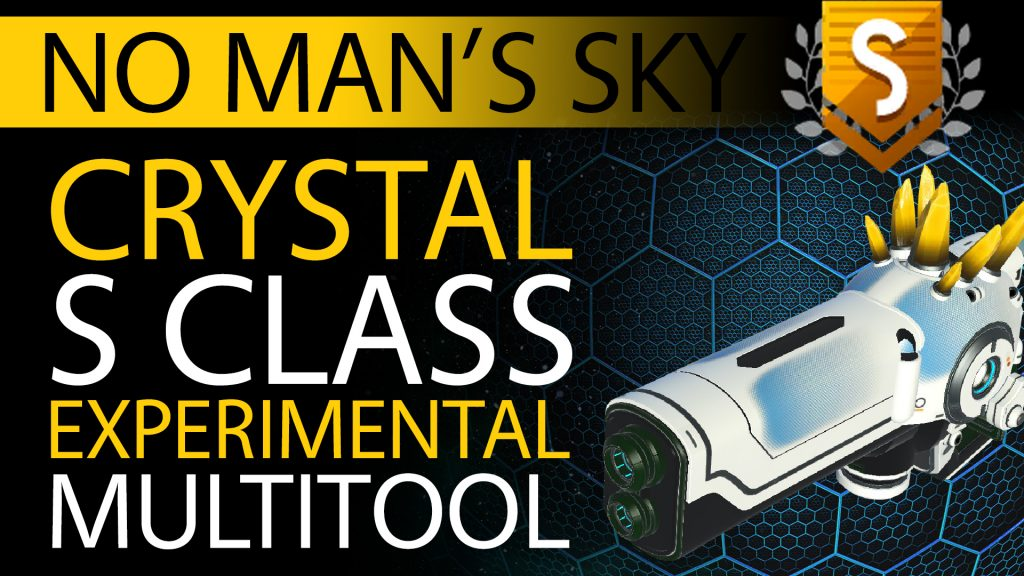 30 No Man's Sky Yellow Crystal S Class Experimental Multitool - Available to ALL - Xaine's World NMS Thumbnail