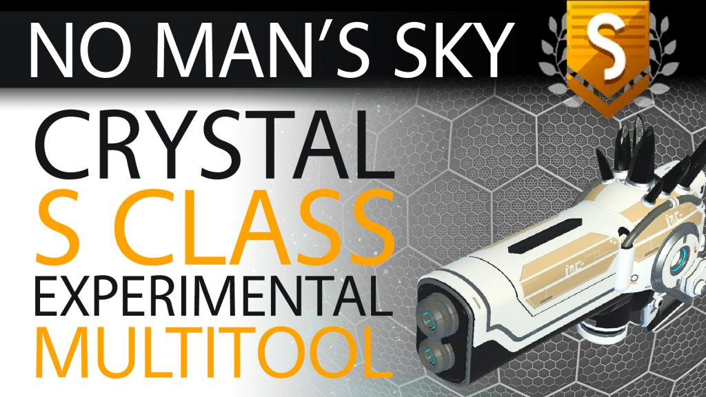 31 No Man's Sky Black Crystal S Class Experimental Multitool - Available to ALL - Xaine's World NMS Thumbnail