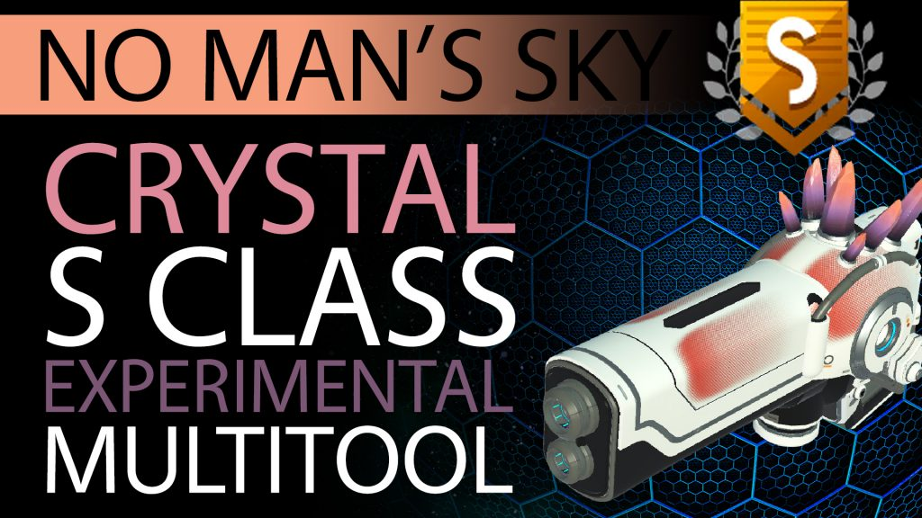 32 No Man's Sky Orange-Pink Crystal S Class Experimental Multitool - Available ALL - Xaine's World NMS Thumbnail