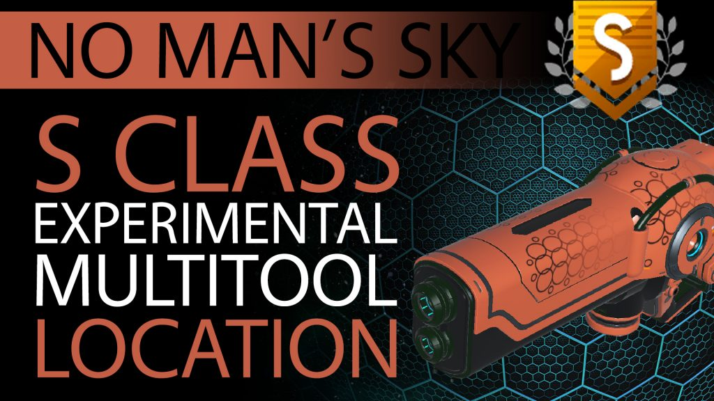33 No Man's Sky Orange, Black Decals S Class Experimental Multitool - Available ALL - Xaine's World NMS Thumbnail