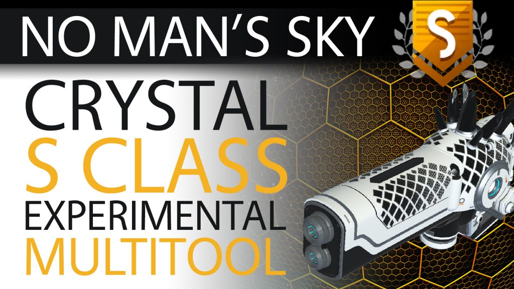 34 No Man's Sky Epic Black Crystal S Class Experimental Multitool - Available ALL - Xaine's World NMS Thumbnail