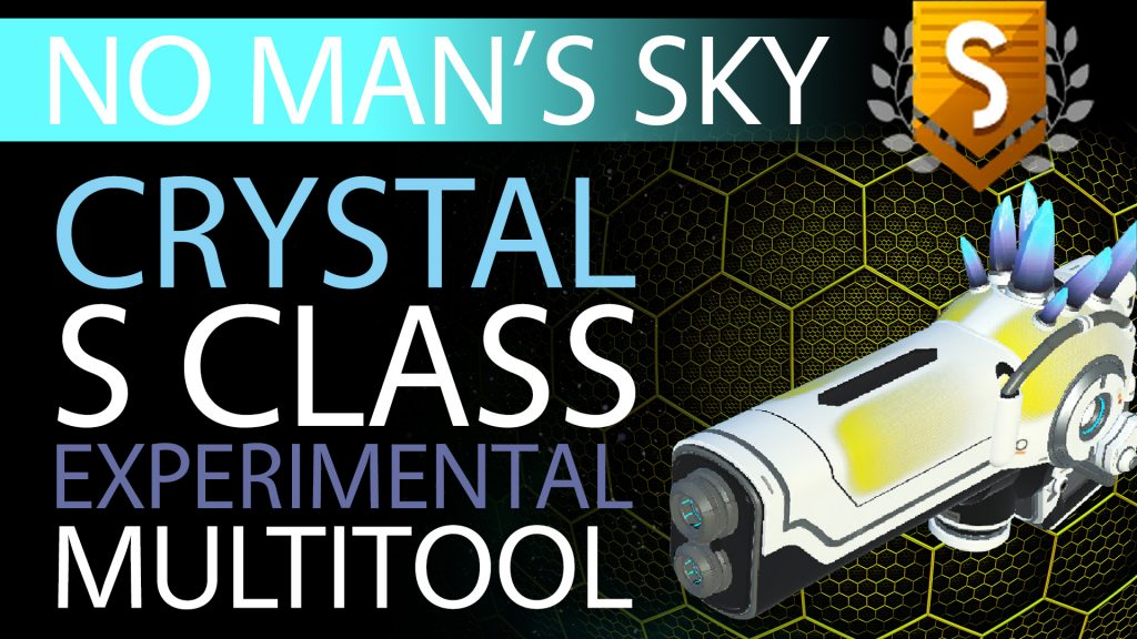 36 No Man's Sky Epic Blue Crystal S Class Experimental Multitool - Available to ALL - Xaine's World NMS Thumbnail