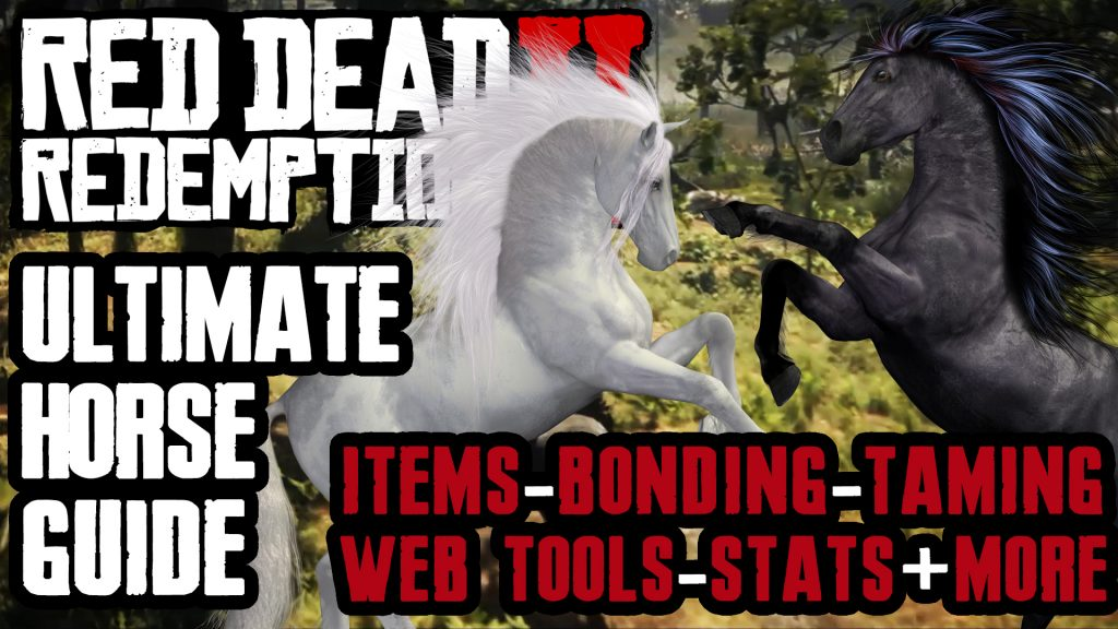 HORSES, THE ULTIMATE COMPREHENSIVE GUIDE IN RED DEAD REDEMPTION 2 Thumbnail
