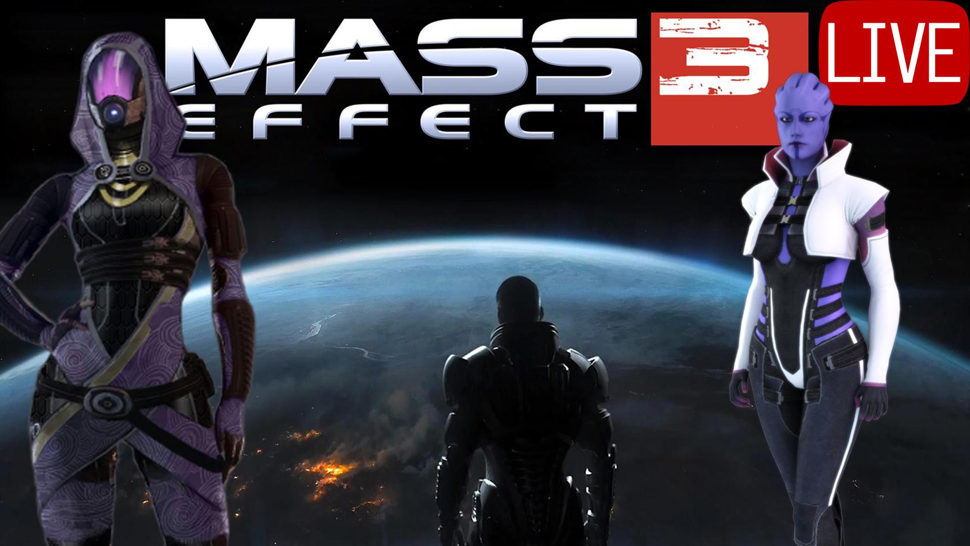Mass Effect 3 Thumbnail Live Tali & Aria