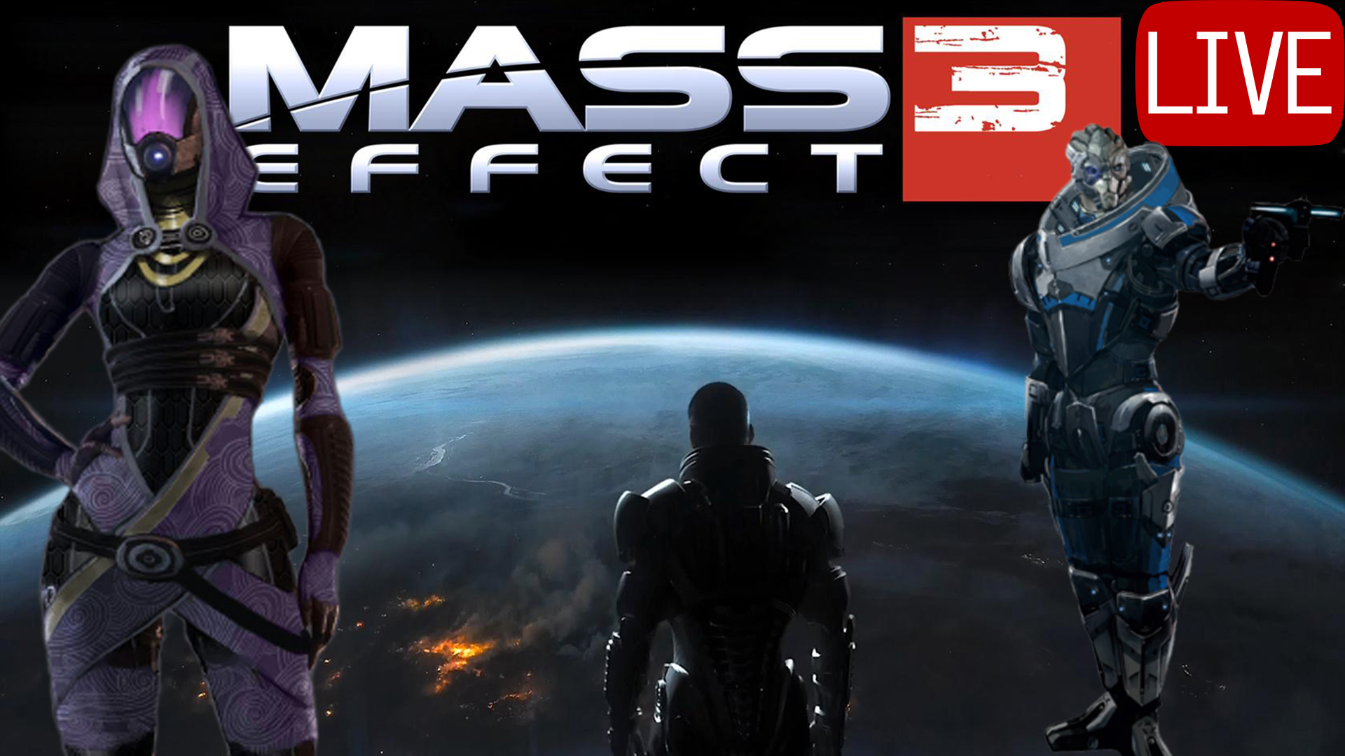Mass Effect 3 Thumbnail Live Tali & Garrus