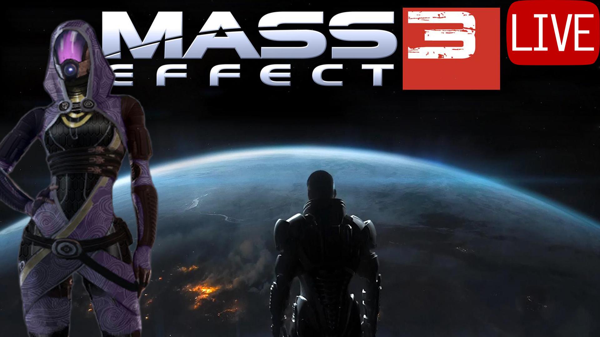 Mass Effect 3 Thumbnail Live Tali