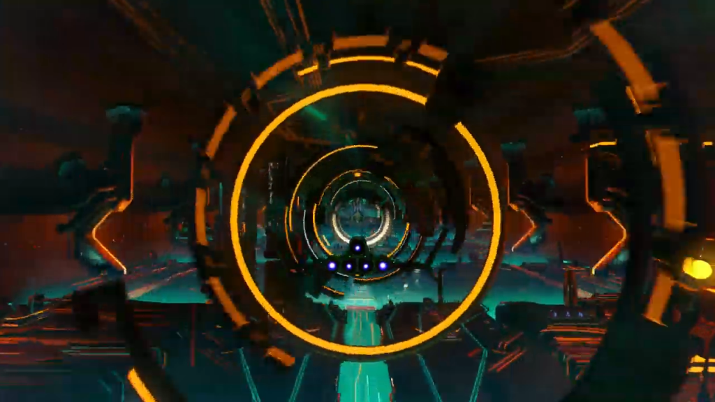 No Man's Sky Beyond Launch Trailer Screenshot Analysis, Nexus Entrance, Multiplayer Lobby