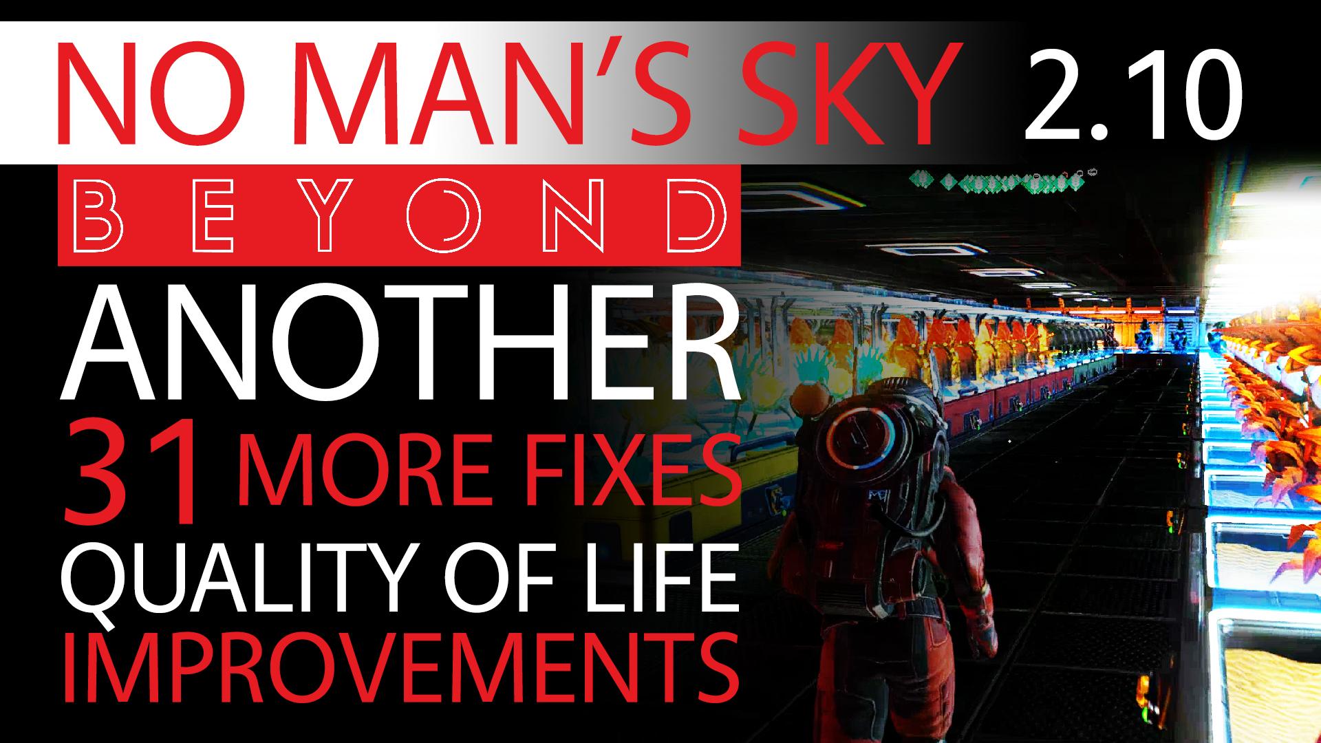 No Man's Sky Beyond News 2.10 brings 31 Bug-Crash Fixes and Quality of Life Improvements Thumbnail