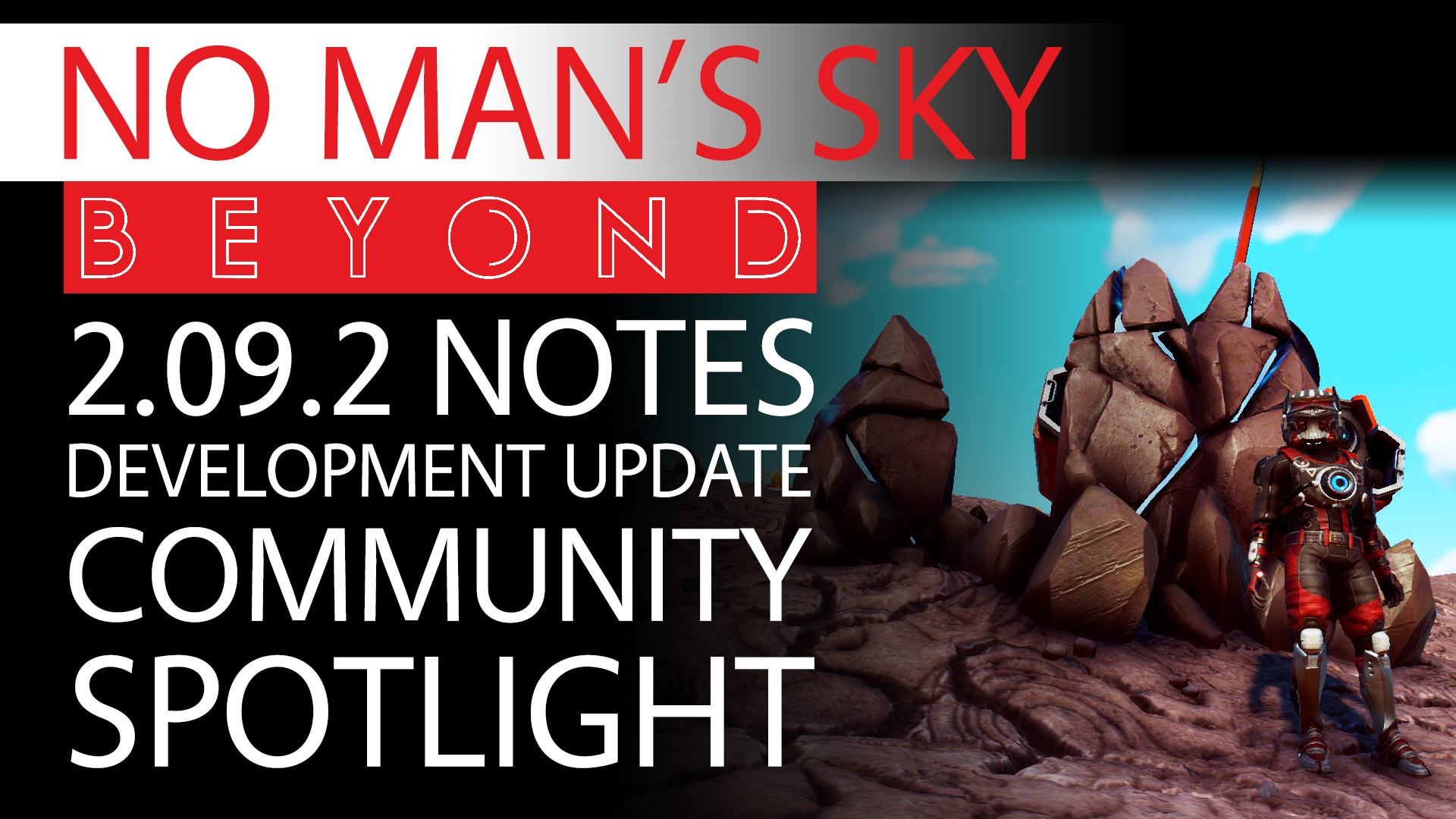 No Man's Sky Beyond News - Patch 2.09.2 Notes & Development Update With Community Spotlight Thumbnail