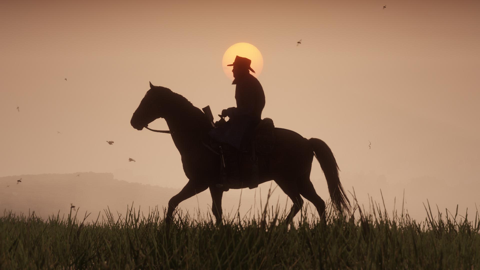 Red Dead Redemption 2 Horse Saddle & Stirrups