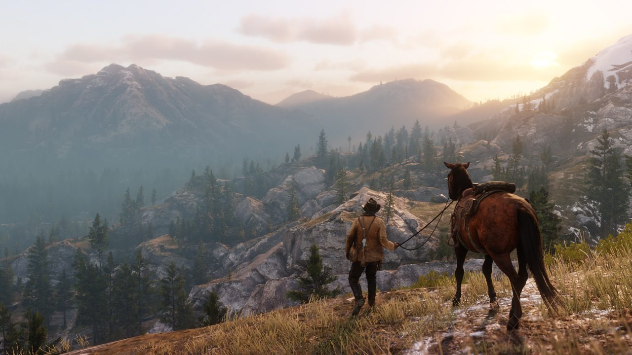 Red Dead Redemption 2 Hunting in the Wilderness