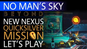Doing New Quicksilver Missions From Nexus in No Man's Sky Beyond - Xaine's World Testing the Update Thumbnail