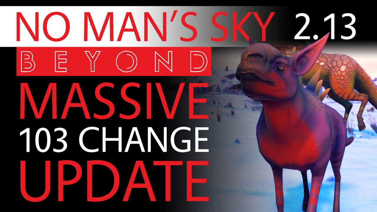 INSANE NEW 103 Note No Man's Sky Beyond Patch Coming - Freighters, Auto Power & More - Xaine's World