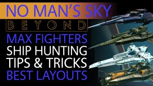 No Man's Sky Beyond - 3 EPIC S Class Fighters, Black, Grey & White - Hunting Tips & Detailed Layouts