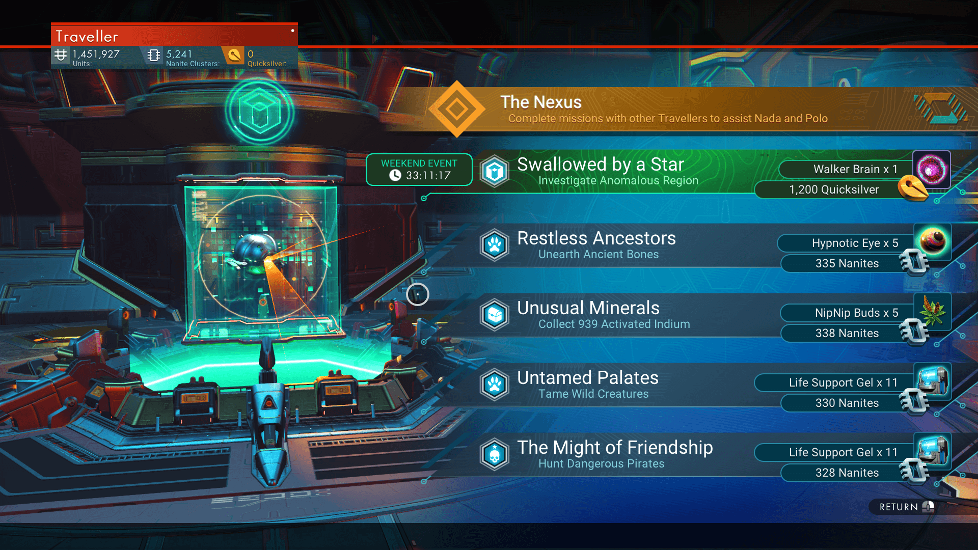 No Man's Sky 2.15 Weekend Event Community Development Update