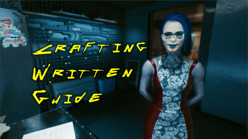 crafting written guide