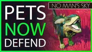 pets now defend us in No man's sky 2021